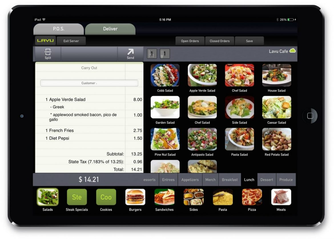 Lavu POS for restaurants and bars | Retail Council Services